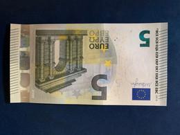 5 Euro Firma Draghi NB N018f4 FDS/UNC - EURO
