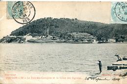 N°4662 R -cpa Toulon -le Fort Des Caraques Et La Croix Des Signaux- - Toulon
