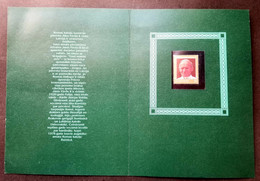 Latvia Pope JOHN PAUL II Visit 1993 (folder Set) MNH *rare *see Scan - Lettonie
