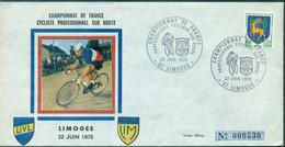CYCLISME Champ De France Sur Route Pro 22.6.1975 LIMOGES (tirage 600 Ex N° 530 ) TB - Radsport