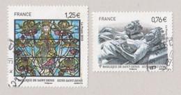 FRANCE 2015 Issu Du Bloc F4930 Basilique Cathédrale De Saint-Denis TIMBRE OBLITERE - France