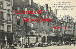75004 ☺♦♦ PARIS AUTREFOIS N° 76 < 21 RUE SAINT ANTOINE < BANQUE + COMMERCE NICOLAS + HOTEL De MAYENNE + EPICERIE - Arrondissement: 04