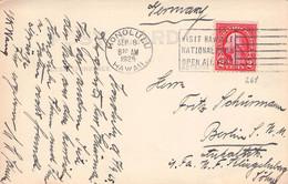 HAWAII - PICTURE POSTCARD 1925 HONOLULU > BERLIN /AS213 - Cartas