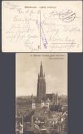 Bataillon Allemand - Feldpost (Bruges 1918) + Feldpost Adresse : Res. Feldart. Rgt. 54, 7. Batr. > Nürnber - Deutsche Armee