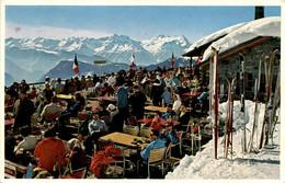 Café-Restaurant De Medran à La Croix-de Ruinettes S/Verbier * 17. 2. 1961 - VS Valais