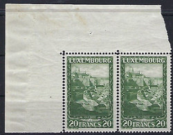 Luxembourg - Luxemburg - Timbres 1931  Paysages  MNH **  KW 20 - Blocks & Kleinbögen