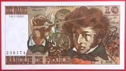 N°189 BILLET BANQUE DE FRANCE 10 FRANCS BERLIOZ 6 7 1978 - 10 F 1972-1978 ''Berlioz''