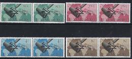 Luxembourg - Luxemburg - Timbres 1949 Unionpostale Universelle  MNH ** Série Paires    KW 50 - Blokken & Velletjes