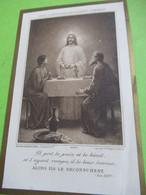 Image Religieuse/ Alors Ils Le Reconnurent/1ére Communion/Chapelle LYCEE HOCHE/Georges Parisot/VERSAILLES/1912   IMPI49 - Religion & Esotérisme