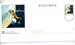 Pap Specimen Gillon Cosmonaute - Postal Stamped Stationery