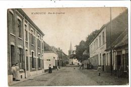 CPA-Carte Postale-Belgique-Warcoing Rue De Courtrai Animée VM21662dg - Pecq