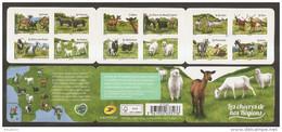 2015 Carnet Adhésif - Les Chèvres De Nos Régions - N° 1096 NEUF - LUXE ** NON Plié - Booklets