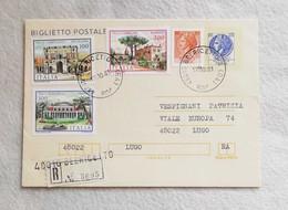 Biglietto Postale Da 120 Lire Raccomandato Con Affrancatura Aggiuntiva Da Belricetto Per Lugo 1981 - 6. 1946-.. Repubblica