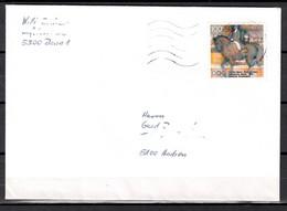 BRD; MiNr. 1594, Sporthilfe: Olympische Spiele, Dressurreiten, Auf Portoger. Brief Von Bonn Nach Aachen; B-1524 - [7] Federal Republic