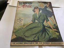 Magazine Le Miroir De La Mode 1948 Notre Patron Gratuit Une Robe Bain De Soleil Mode Modèle - Autres
