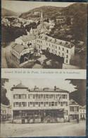 Carte Postale CPA LUXEMBOURG LUXEMBURG - LAROCHETTE Hôtel De La Poste - Double Vue - Larochette