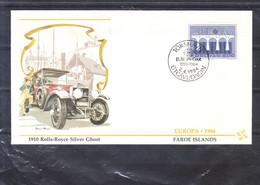 Europa 1984 - Feroe Islands - Rolls-Royce Silver Ghost 1910 - Féroé (Iles)