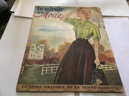 Magazine Le Miroir De La Mode 1948 Mode Modèle Heure D'automneUn Autre Patron Gratuit Une Robe Passe-partout - Autres
