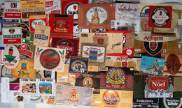 Biere Etiquette Bieretiketten Bier Etiket Beer Label Belgium Lot 016 - Bière