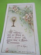 Image Religieuse/N'oublions Pas Que.../1ére Communion Et Confirmation/LYCEE HOCHE/Jean  Parisot/VERSAILLES/1909  IMPI51 - Religion & Esotérisme