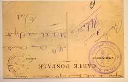 Cachet Hopital Municipal N°119 Bis Tournon 1915 - WW I