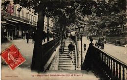 CPA Tout Paris - 57 - Boulevard Saint-Martin 3e Et 10e (75736) - Arrondissement: 03