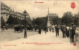 CPA Tout Paris - 185 - Place Du Chatelet 1e Et 4e (75753) - Arrondissement: 04