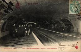 CPA Tout Paris - 1122 - Le Metropolitain 3e (75768) - Arrondissement: 03