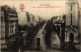 CPA Tout Paris - 596 - L'Avenue Du Maine, 14e (75930) - Arrondissement: 14