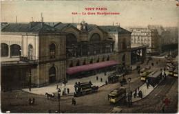 CPA Tout Paris - 624 - La Gare Montparnasse (75980) - Arrondissement: 14