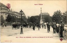 CPA Tout Paris - 185 - Place Du Chatelet, 1e Et 4e (75984) - Arrondissement: 04