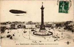 CPA Tout Paris - 38 M - Place De La Bastille 4e (75994) - Arrondissement: 04