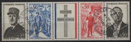 FR 1850 - FRANCE N° 1698A Bande Obl. Général De Gaulle - Gebruikt