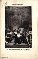 CPA Paris 5e - Fresques Du Pantheon (76200) - Panthéon