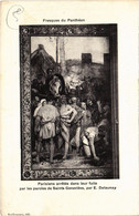CPA Paris 5e - Fresques Du Panthéon (76206) - Panthéon