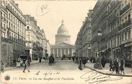 CPA Paris 5e - La Rue Soufflot Et Le Pantheon (76209) - Panthéon