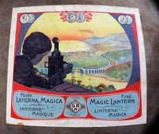 Lanterne Magique Inventée Au18ésiècle-Themagic Lantern-18th Century Until The Mid-20th Century-Boîte+Films+diapos - Film Projectors
