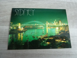 SYDNEY  BY NIGHT - VUE GENERALE - - Sydney
