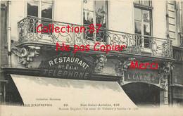 75004 ☺♦♦ PARIS AUTREFOIS N° 89 < RESTAURANT DALAT Et MAISON SEGUIER Au 133 RUE SAINT ANTOINE - Arrondissement: 04