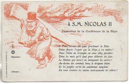 Russie Lettre à S.M. NICOLAS II - Russia