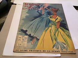 Magazine Le Miroir De La Mode 1948 Mode Modèle Toujours Nouveau Le Trousseau Des Vacances Robe - Andere