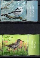 LATVIA, 2018, MNH, BIRDS, 2v - Sonstige