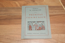Manuel Préparation Première Communion (1941) - Religion & Esotérisme