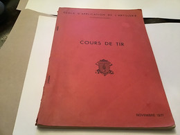 Colle D'application De L'artillerie Cours De Tir école De L'artillerie 189 Page Lire Sur Objectif Vu De L'observatoire M - Français