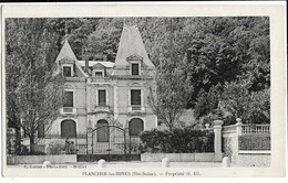PLANCHER-les-MINES  (70) Propriété H. Ell Ed. Karrer - Frankrijk