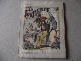 Protège Cahier,  La PATIENCE, L'ANE  , Fin XIX - Protège-cahiers