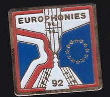 66948-Pin's.Parade Musicale Europhonies. Strasbourg - Musica