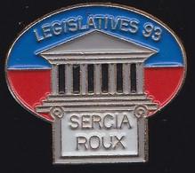 66952-Pin's. Jacques Roux, Maire De La Valette.Joseph Sercia, UDF-PR Puis DVD - Personaggi Celebri