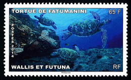 WALLIS ET FUTUNA 2014 - Yv. 817 ** - Faune. Tortue De Fatumanini  ..Réf.W&F23085 - Unused Stamps