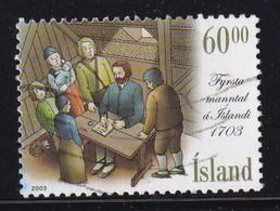 Iceland 2003, Minr 1044 Vfu. Cv 2 Euro - 1944-... Repubblica